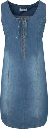 Baner Robe Évasée Bonprix D'été En Bleu Jeanswear Jean John 9HIE2D