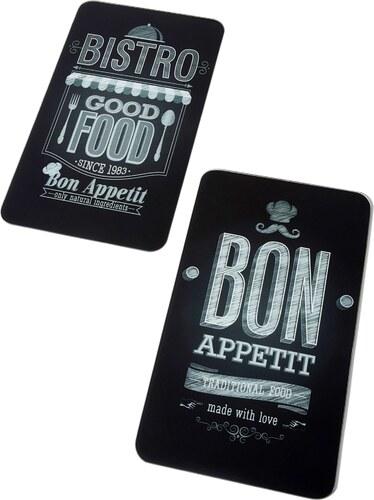 Bpc Living Herdabdeckplatten Bon Appetit 2 Tlg Set In