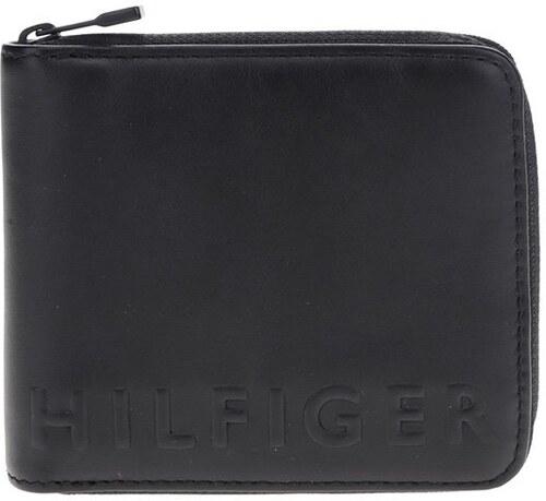 Čierna pánska kožená peňaženka Tommy Hilfiger - Glami.sk acd1b635019