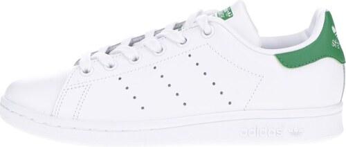 Biele kožené tenisky adidas Originals Stan Smith - Glami.sk 719d7a364a