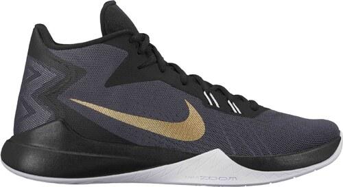 Pánské basketbalové boty Nike ZOOM EVIDENCE ANTHRACITE METALLIC GOLD-BLACK edf9214dbc