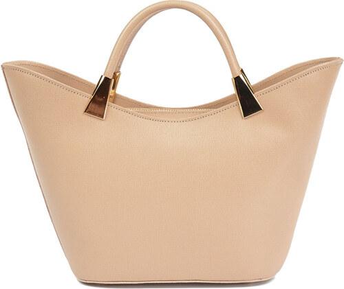 Carla Ferreri Elegantná kožená kabelka 466 Rosa - Glami.sk 2d3f7f46db4