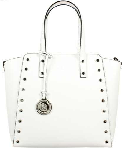 Italská kožená kabelka Pierre Cardin 1531 Ruga Bianco - Glami.cz e9625057a17