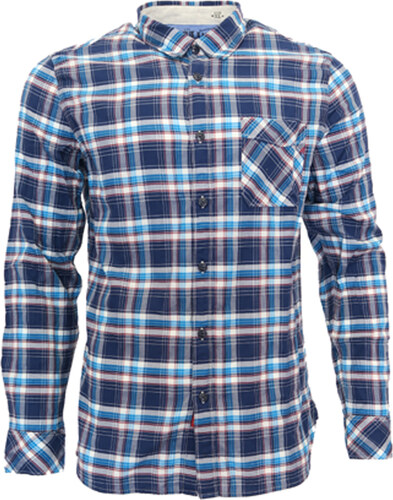 Pánská košile modrá REPLAY - Glami.cz 3cbd0a8886