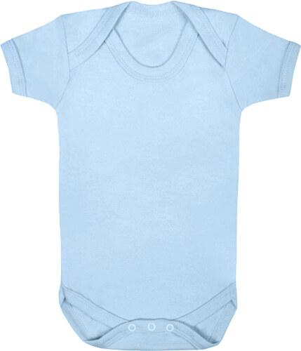 ab6d24ab34e4 Značky dětem Body z organické bio bavlny vel.12-18 měsíců modrá ...