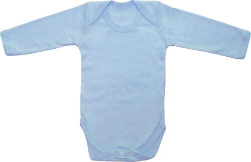 097c7a228d4d Značky dětem Body z organické bio bavlny vel.12-18 měsíců modré ...