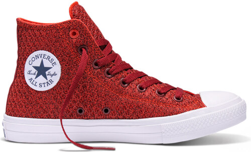 ad29d3b7ee3 Converse Chuck Taylor All Star II Spacer Mesh High Top Signal Red červené  154019C
