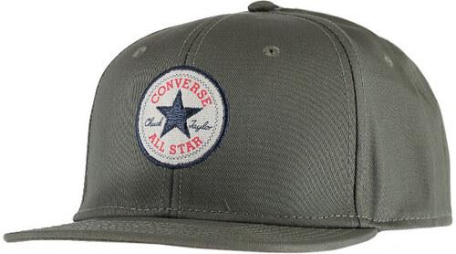 Tmavě zelená kšiltovka Converse Core Snapback - Glami.cz 92edef2985
