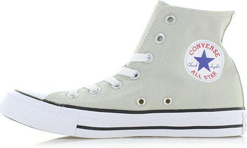 285349e200b Converse Dámské světle šedé vysoké tenisky Chuck Taylor All Star HI ...
