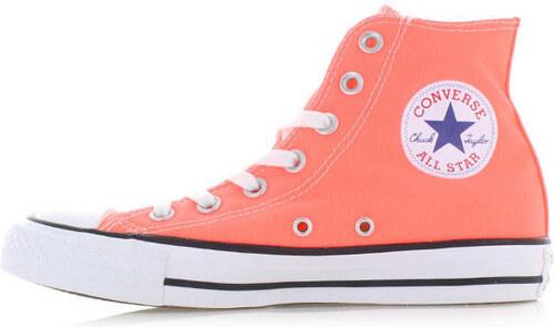 Converse Dámské neonově-oranžové vysoké tenisky Chuck Taylor All Star HI 3bb2675ff2