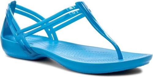e591d4ffd889 Sandále CROCS - Isabella T-Strap 202467 Blue - Glami.sk