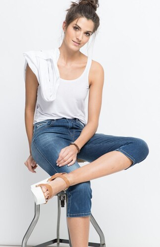 29895bed8361 H.I.S JEANS Dámske rifle HIS   Marylin Slim Jeans 101304-00-9383 ...