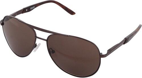 Pánske slnečné okuliare s rámom v hnedej farbe Dice - Glami.sk 42a221d33a4