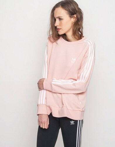 Mikina Adidas Originals 3-Stripes A-Line Vapour Pink - Glami.cz 1162b4a7b29