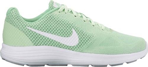 Dámské běžecké boty Nike WMNS REVOLUTION 3 FRESH MINT WHITE-WOLF GREY f5c259847f