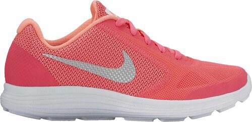 Dětské běžecké boty Nike REVOLUTION 3 (GS) RACER PINK WHITE-LAVA GLOW b5444599f2