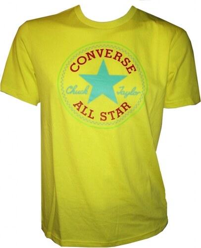 7136a2e9ca2f Pánske tričko Converse Core SEASONAL CP Tee Žltá - Glami.sk