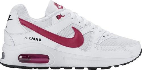 Dětské tenisky Nike AIR MAX COMMAND FLEX (GS) WHITE SPORT FUCHSIA-BLACK 0b906c70d40