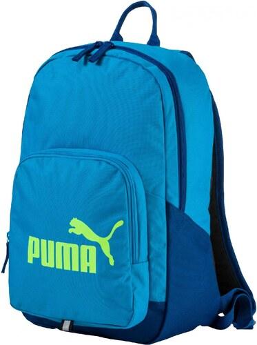 Pánský batoh Puma Phase Backpack black blue danube - Glami.cz d6ccd209af
