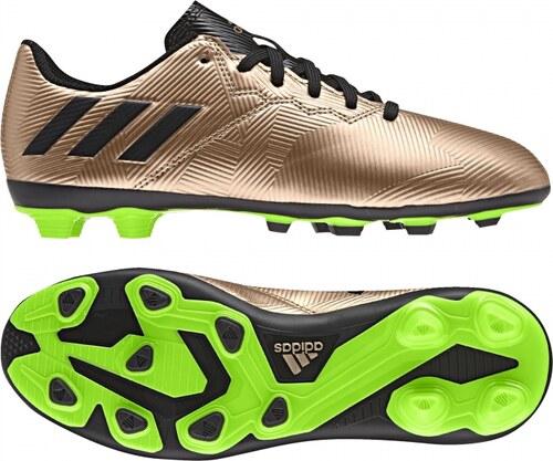 Kopačky lisovky adidas Performance MESSI 16.4 FxG J (Čierna   Zelená ... d5d6bb9ccb