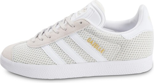 adidas Baskets/Tennis Gazelle W Mesh Gris Clair Femme