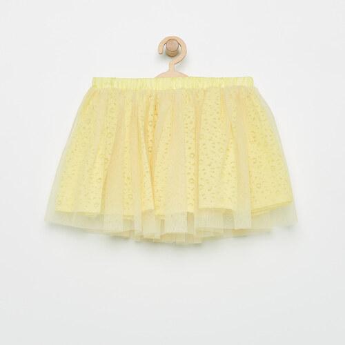 a0e4da9453b2 Reserved - Tylová sukňa - Žltá - Glami.sk