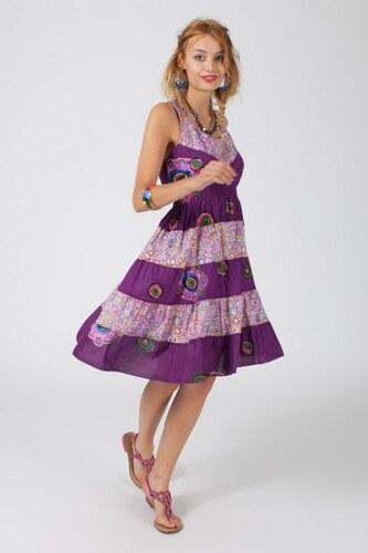 ETNO Letní šaty MANDALA FLOWER LILAC - Glami.cz 94eb51a2d6