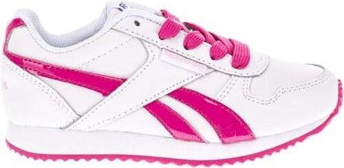 Reebok Dievčenské botasky Royal - ružovo-biele - Glami.sk 28d295a4ba4