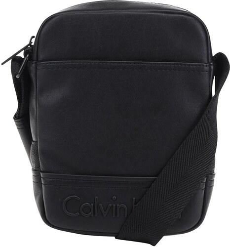 2d13d04fa6 Čierna pánska crossbody taška s logom Calvin Klein Jeans Bastian ...
