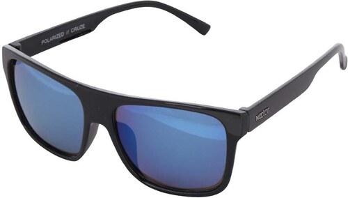 bce784ffd Čierne pánske slnečné okuliare s modrými sklami Nectar Highbro ...