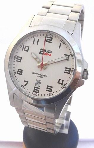 Pánské levné ocelové vodotěsné hodinky BUD-IN steel B1701.1 - 10ATM ... 6bd029a884