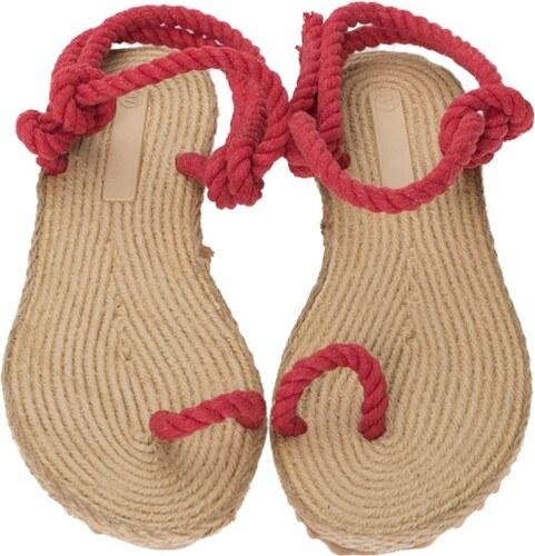 27d6cb512f3b foldbl Dámske plážové sandále F8 RED - Glami.sk