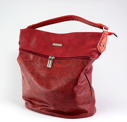 Dámská kabelka GROSSO GRJ V017 - červená - Glami.cz fd156aef40d