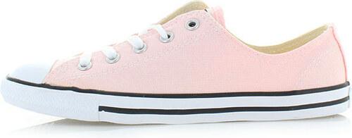 0c0fd875866 Converse Dámské světle růžové nízké tenisky Chuck Taylor Dainty OX ...