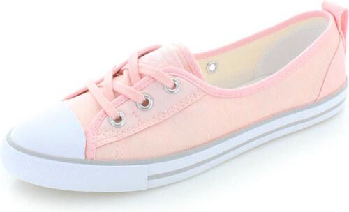 Converse Dámské světle růžové nízké tenisky Chuck Taylor All Star Ballet 9028546ee2c
