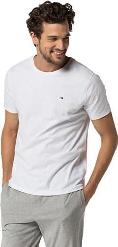 Tommy Hilfiger Pánske tričko Cotton Icon Sleepwear CN TEE SS 2S87904671-100  White 0aba2921238