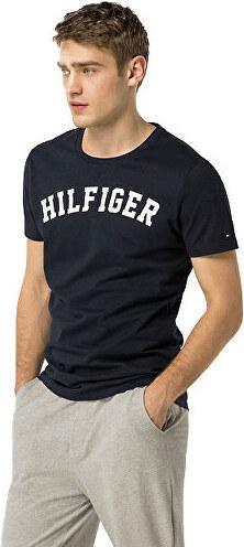46b88859f3 Tommy Hilfiger Pánske pohodlné tričko Cotton Icon SS Tee Logo  UM0UM00054-416 Navy Blazer