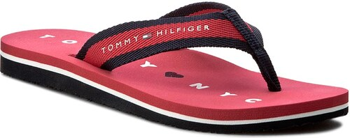 53bc4d681e Žabky TOMMY HILFIGER - Mellie 7D FW0FW00433 Tango Red 611 - Glami.sk