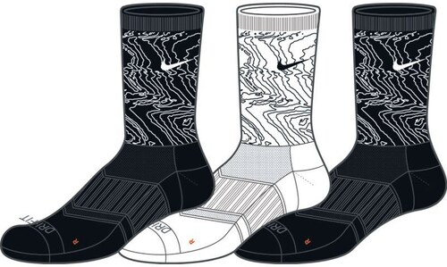 e5b5e984319 Ponožky Nike 3PPK DRI-FIT TRIPLE FLY C SX5412-901 - Glami.cz
