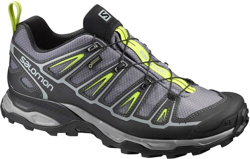 Salomon X ULTRA 2 GTX Quiet Shade BK LIME PUNCH 393516 45 1 3 - Glami.cz d1e5fc3c36