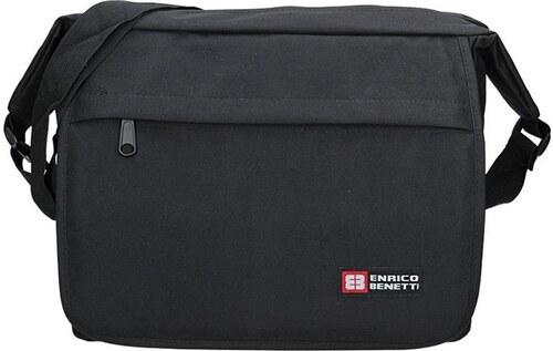 553b7ad288 Pánská taška přes rameno Enrico Benetti Hubert - černá - Glami.cz