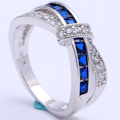 IZMAEL Prsteň Divine-Str. Modrá 49 dcd1ea32a16