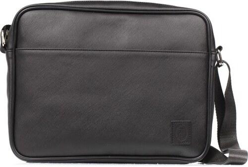 Trussardi Collection Pánská crossbody taška na laptop U66TRC00002 NERO 7e6e45fc256