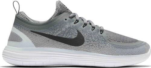 Pánské běžecké boty Nike FREE RN DISTANCE 2 COOL GREY BLACK-WOLF GREY- ad1a551758