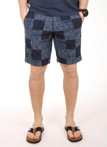 Tommy Hilfiger pánské modré šortky Brooklyn - kazové - Glami.cz ee1b419026