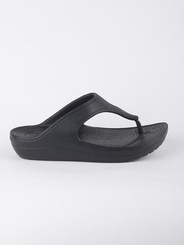 Žabky Crocs Sloane Platform Flip - Black - Glami.sk 3a00927fb2
