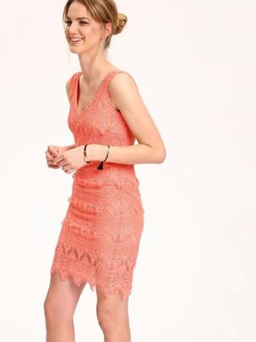 Top Secret šaty dámské růžové krajkové bez rukávu - Glami.cz 5d368b0b14