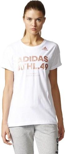 32905ade0bf Dámské tričko adidas Performance ID OXYGENATE WHITE - Glami.cz