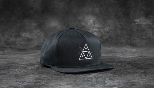 HUF Apparel 420 Triple Triangle Snapback Black - Glami.sk 3d600501ea0f