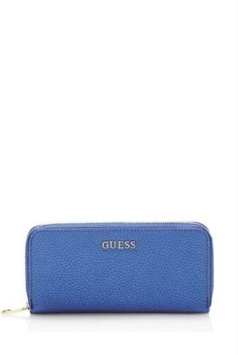 GUESS peňaženka Alanis Zip-around modrá 8f26f428678